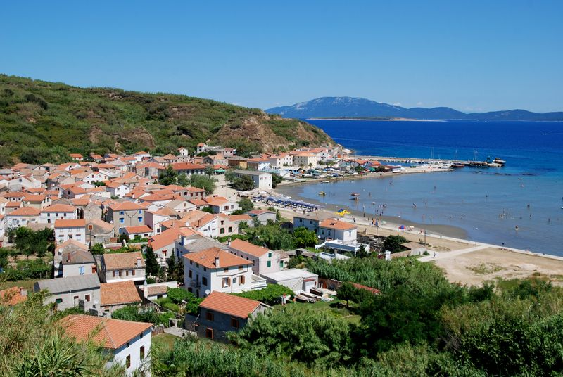 Susak from above