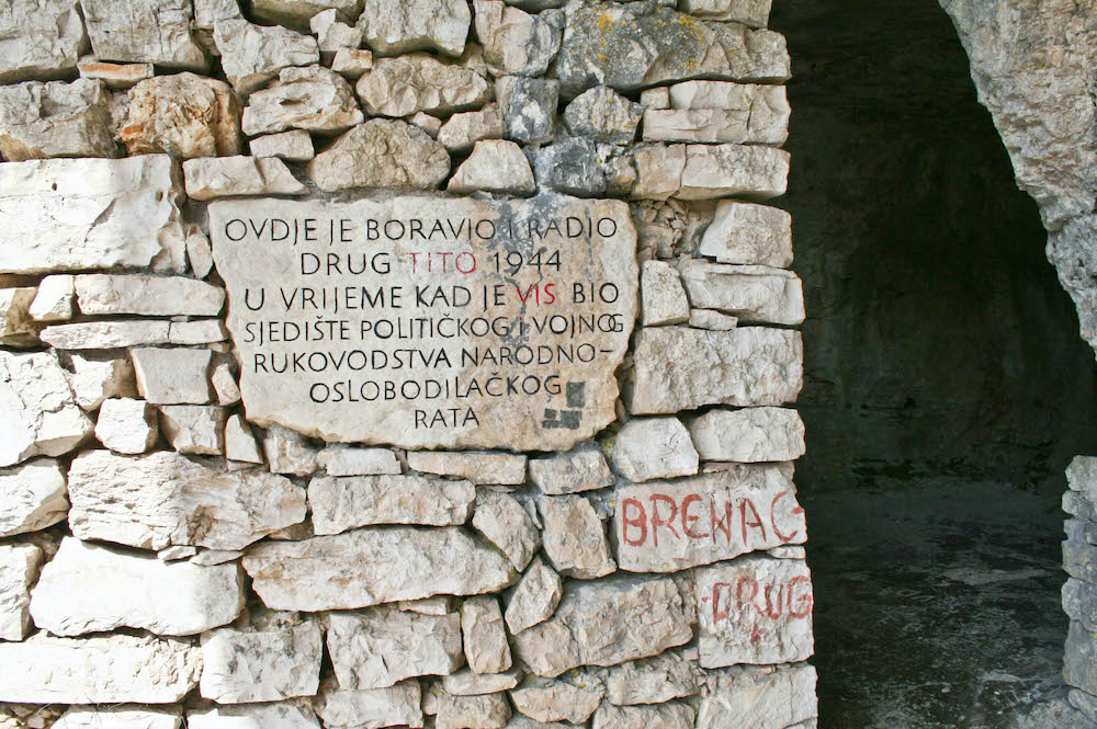 History of Vis - Tito's Cave