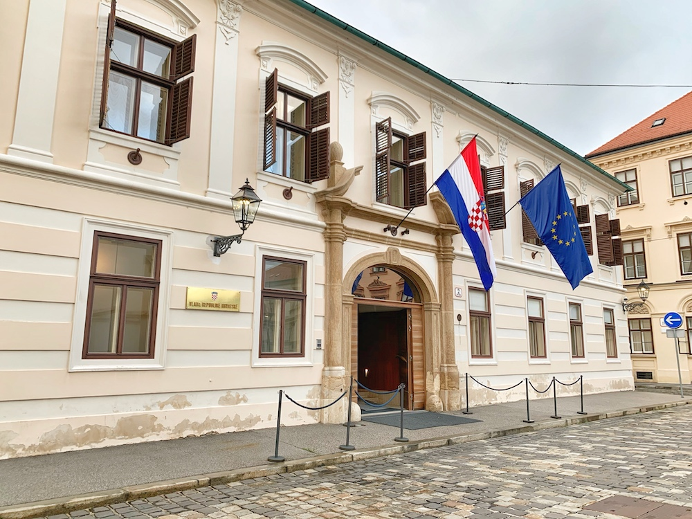 Official residence of the Croatian Government