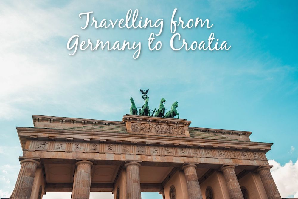 Travelling from Germany to Croatia