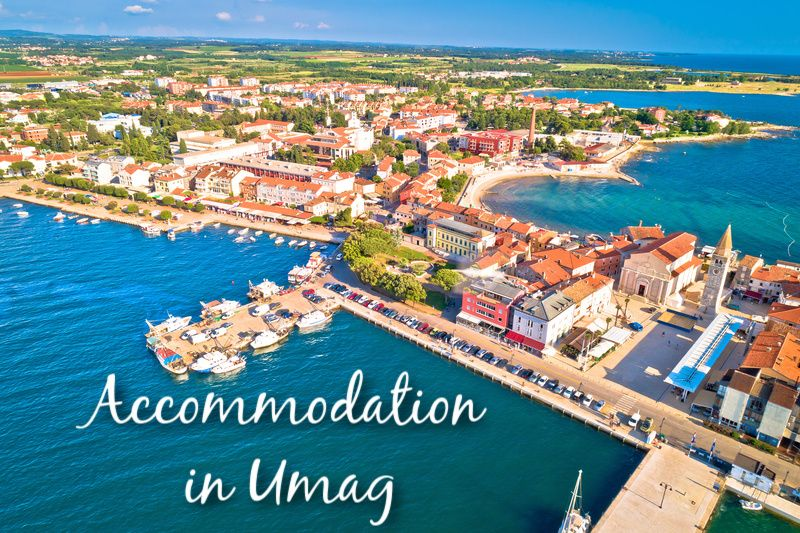 Accommodation in Umag