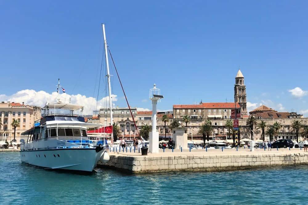 Public Transport in Split - Boat
