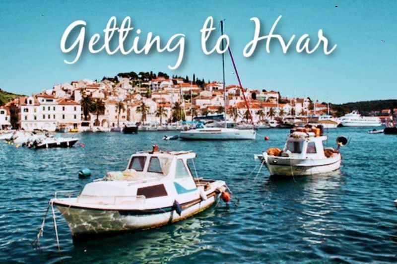 Getting to Hvar