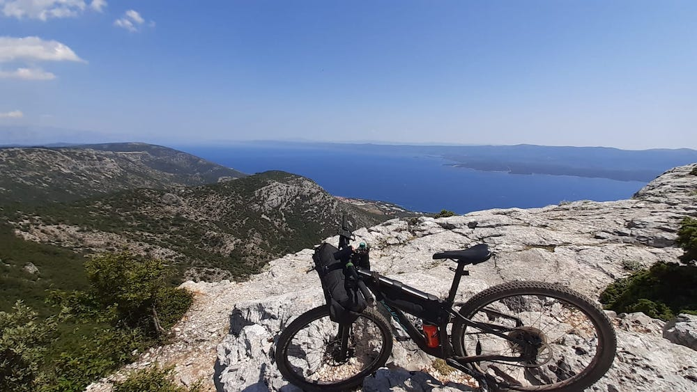Brac bikepacking