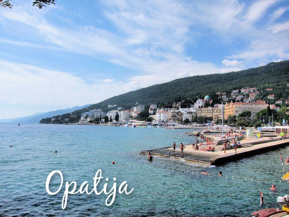 Opatija Sightseeing Accommodation Travel And More Visit Croatia