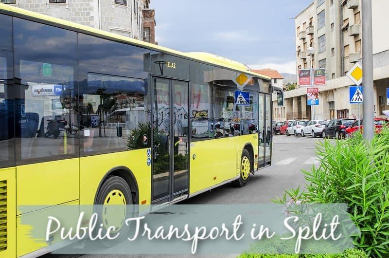 Public Transport in Split