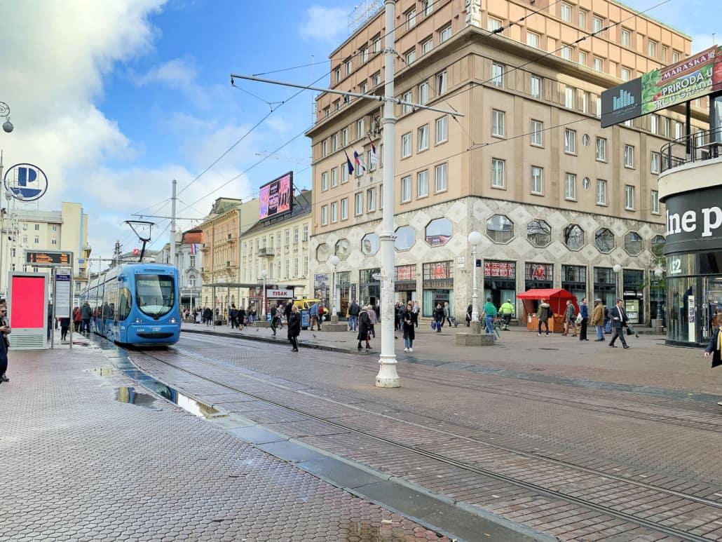 Zagreb Photos - Ban Jelacic Square