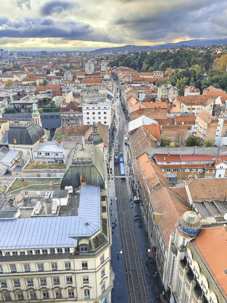 Zagreb Photos - Ilica from above