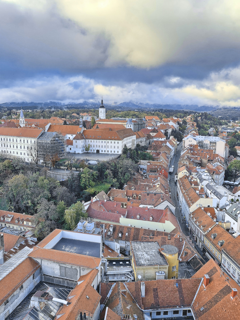 Zagreb Photos - View from 360 Tower