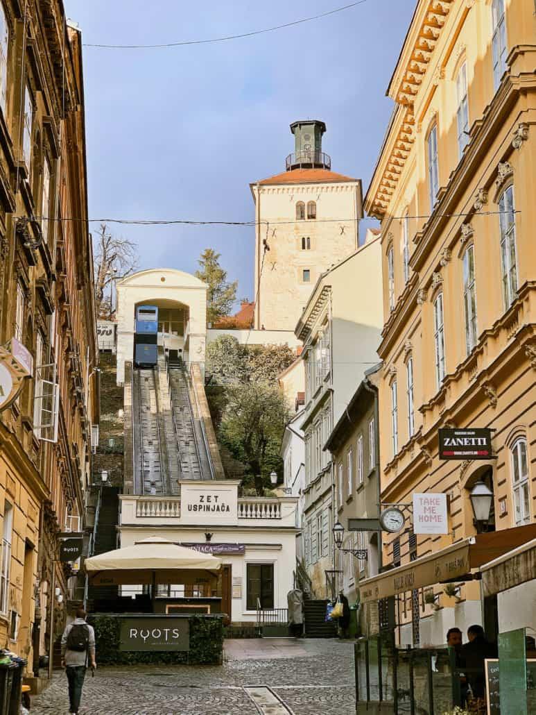 Zagreb Photos - Uspinjaca / Funicular