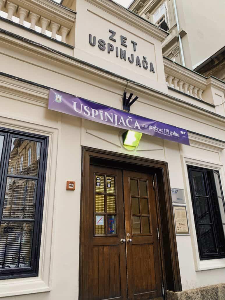 Zagreb Photos - Uspinjaca / Funicular entrance