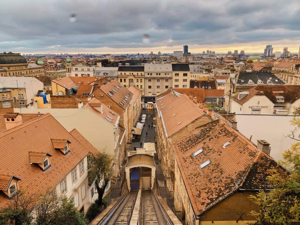 Zagreb Photos - Uspinjaca / Funicular journey