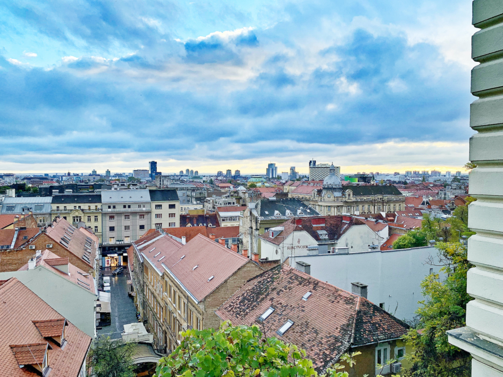 Zagreb Photos - View over rooftops