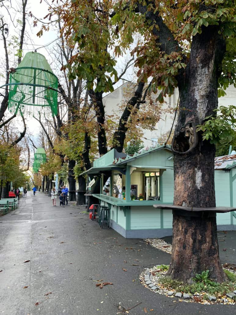 Zagreb Photos - Strossmayer Promenade