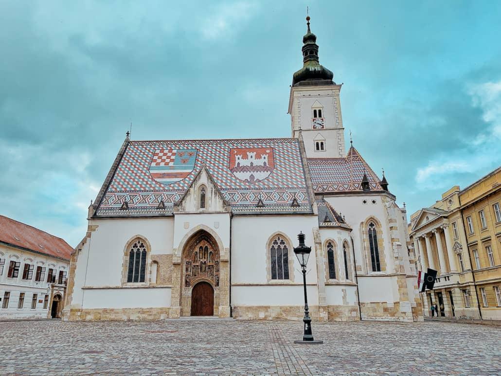 Zagreb Photos - St Mark's Church