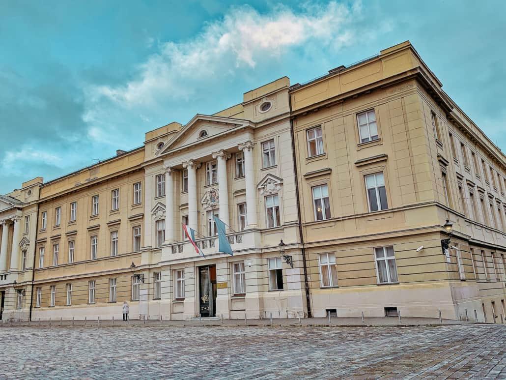 Zagreb Photos - Sabor (Croatian Parlianment)