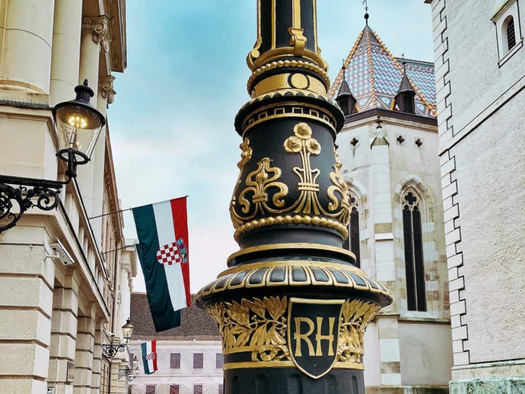 Zagreb Photos - Decorative lampost