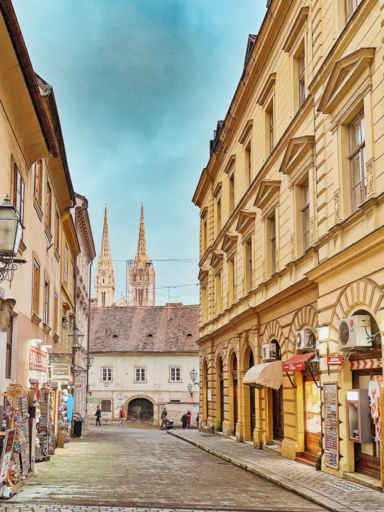 Zagreb Photos - View of cathedral