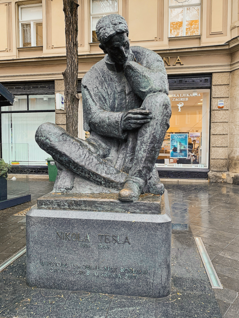 Zagreb Photos - Nikola Tesla