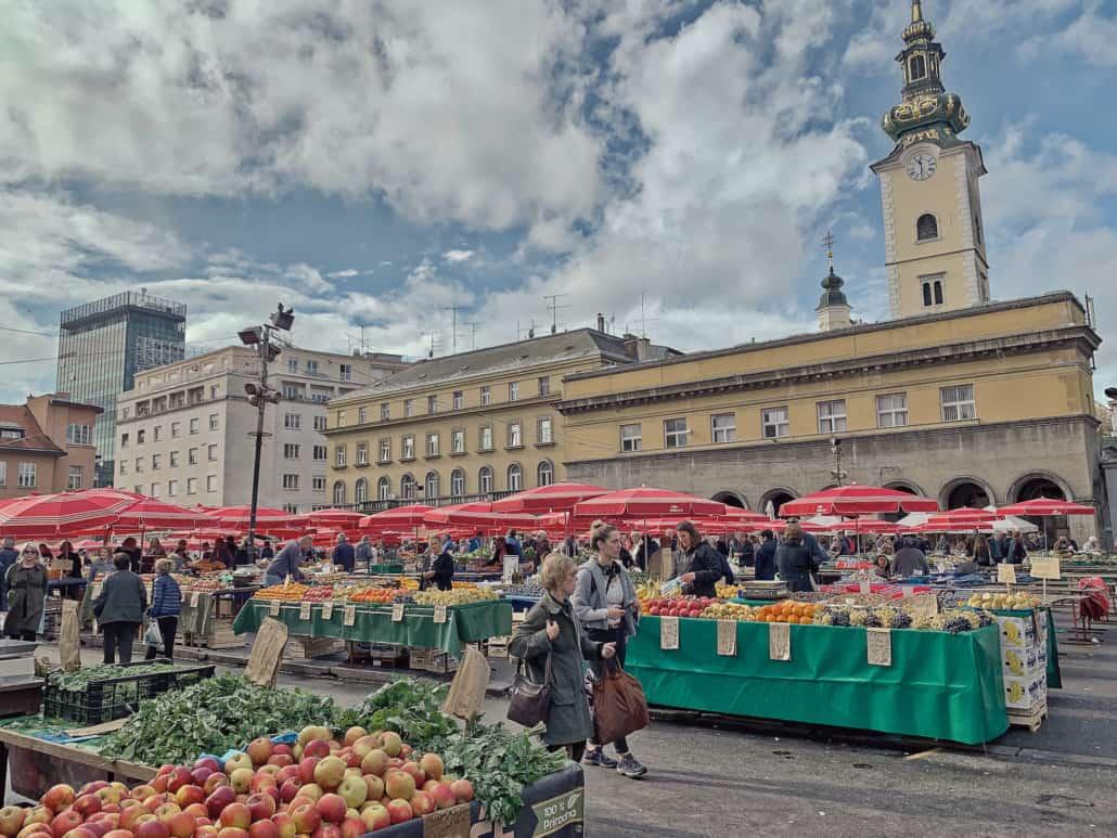 Zagreb Photos - Dolac market