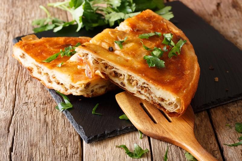Croatian Recipes - Burek