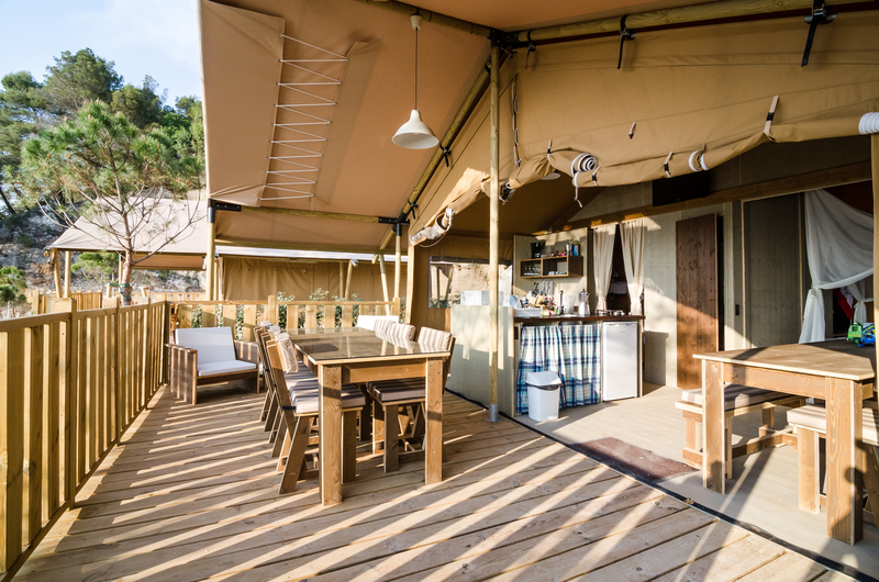 Unusual Places to Stay in Croatia - Glamping