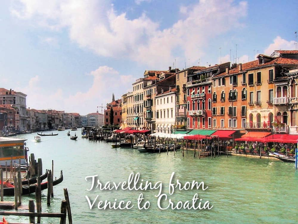 Travelling from Venice to Italy