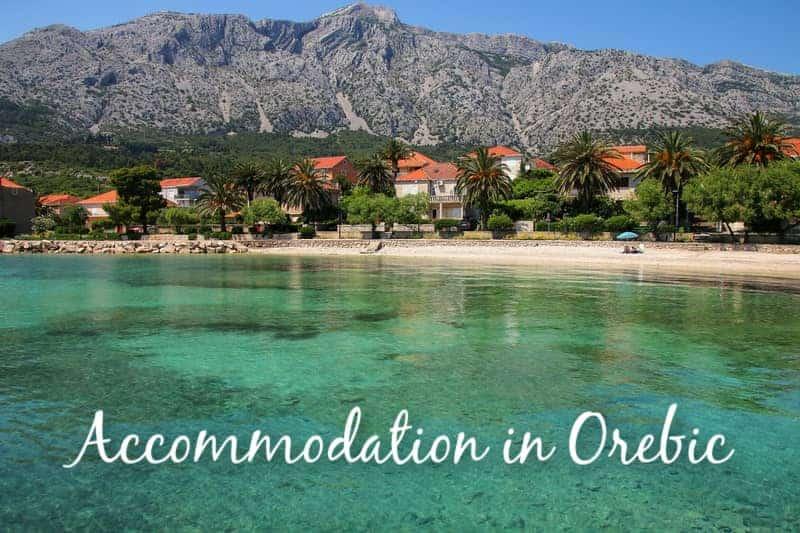 Accommodation in Orebic