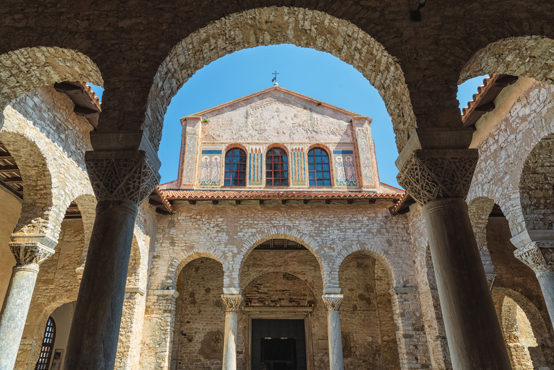 UNESCO World Heritage List - Porec Basilica