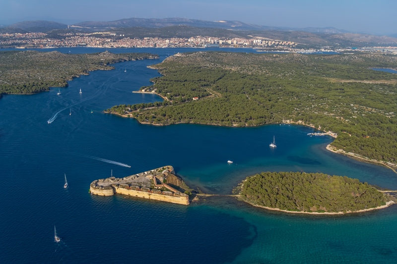 UNESCO World Heritage Sites in Croatia - St Nicholas Fortress, Sibenik