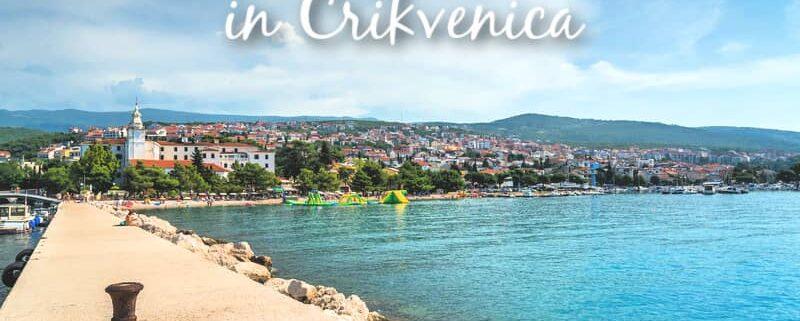 Accommodation in Crikvenica