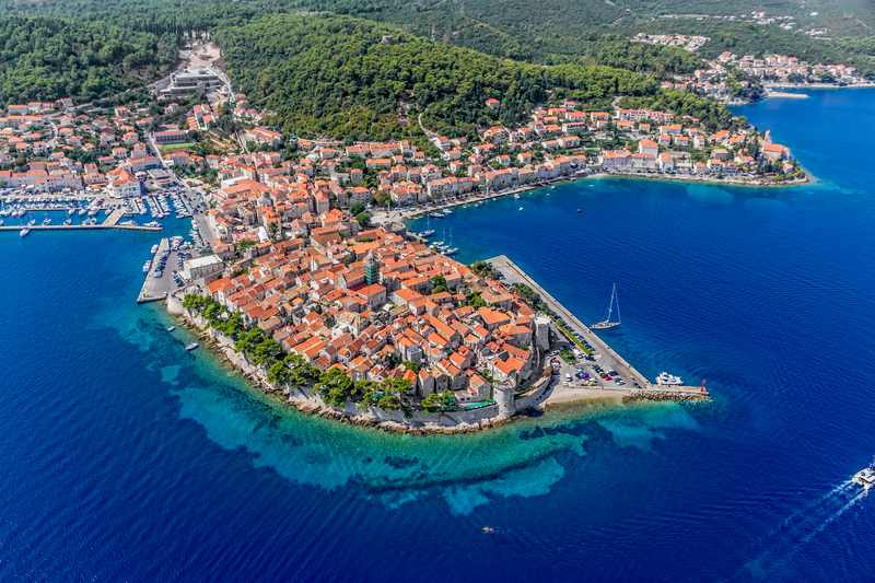 Best islands in Croatia - Korcula