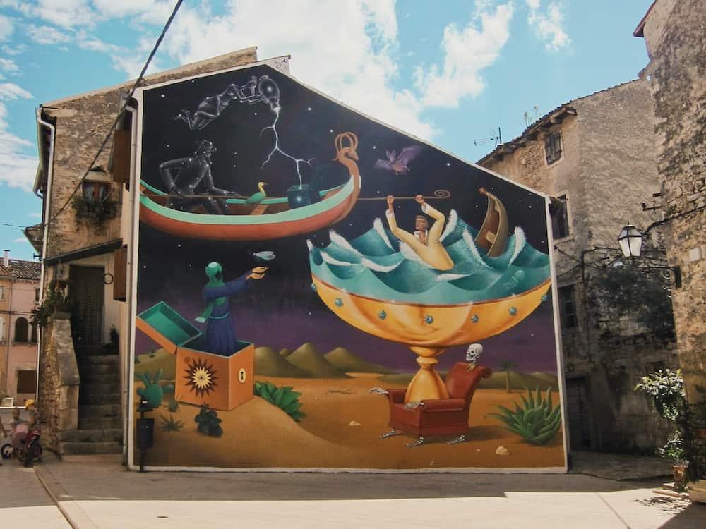 Vodnjan Mural