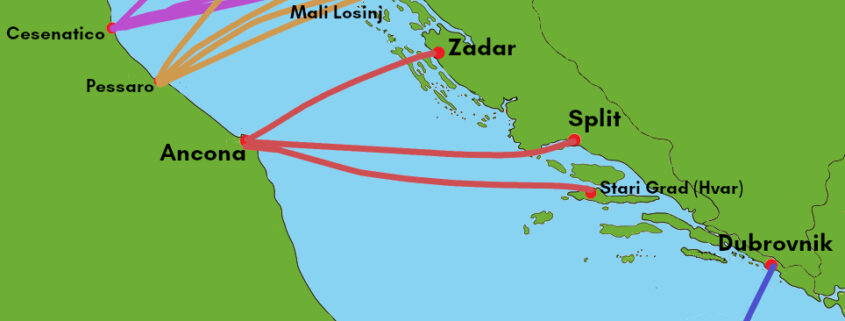 Ferries to Croatia