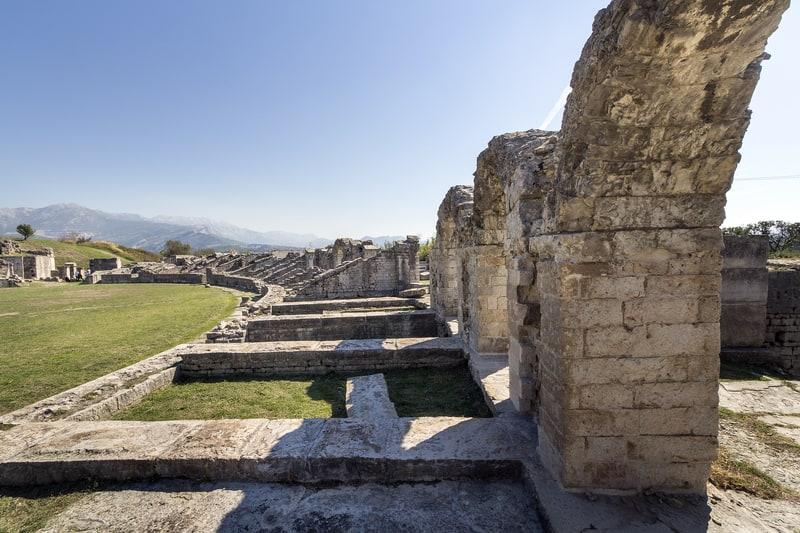 Roman Amphitheatre, Solin