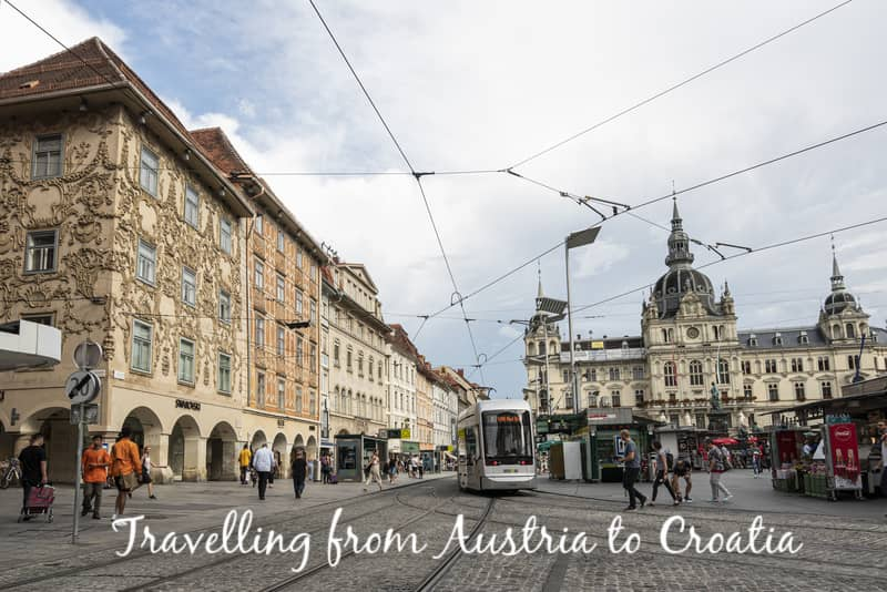Travelling from Austria to Croatia