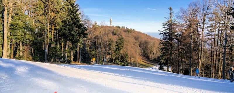 Skiing in Croatia - Sljeme