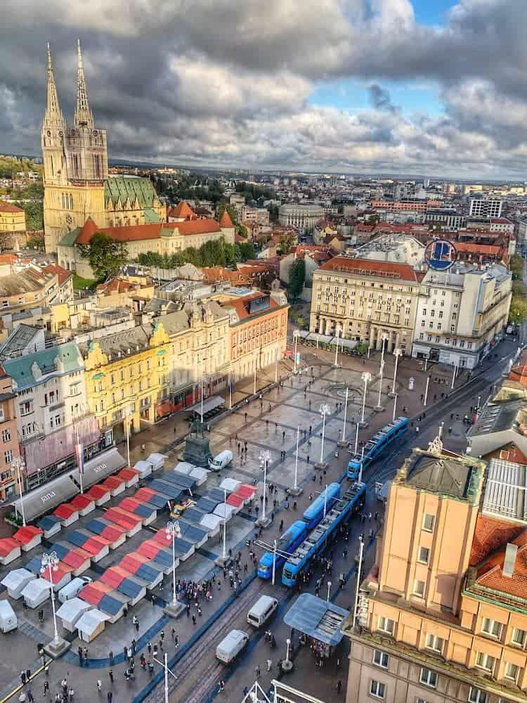 Trg ban Jelacic, Zagreb