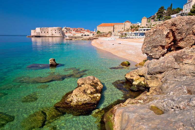Two Days in Dubrovnik - Banje Beach