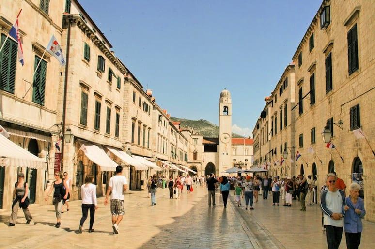 Two Days in Dubrovnik - Stradun