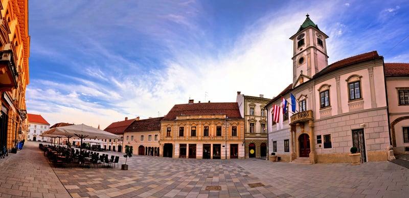 Varazdin main square