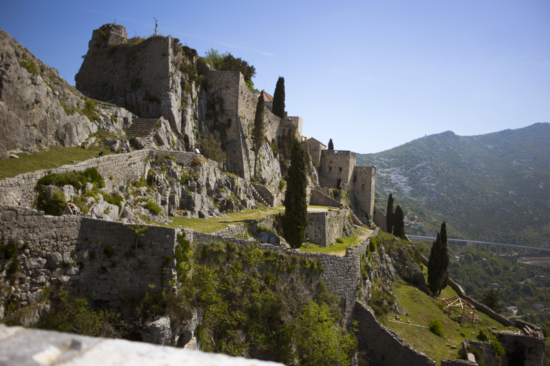 Filming locations in Croatia - Klis Fortress, Game of Thrones