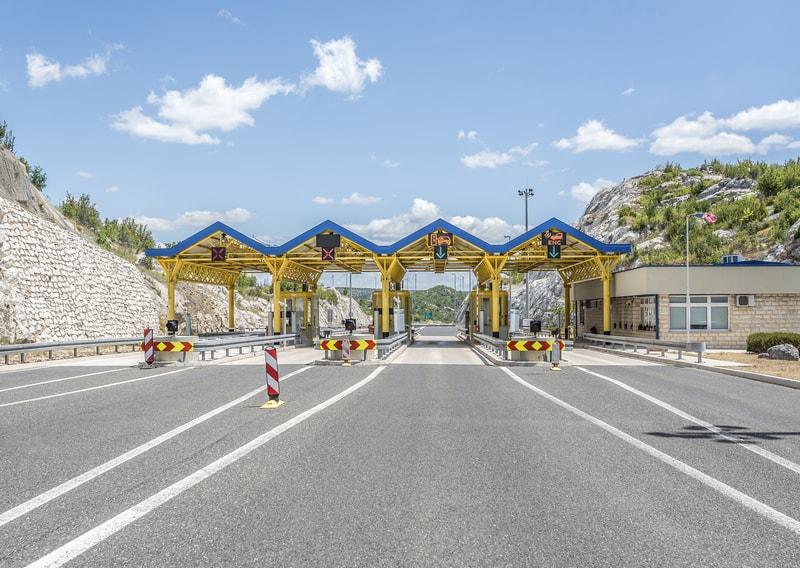 Croatian Motorway toll