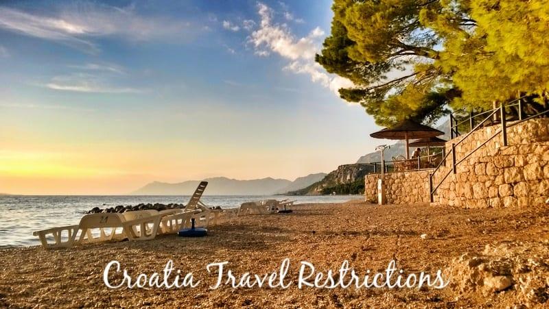 Croatia Travel Restrictions 2021