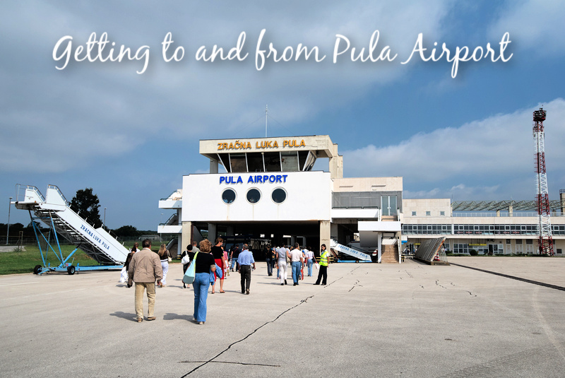 Getting to and from Pula Airport