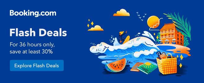 Booking.com Flash Deal