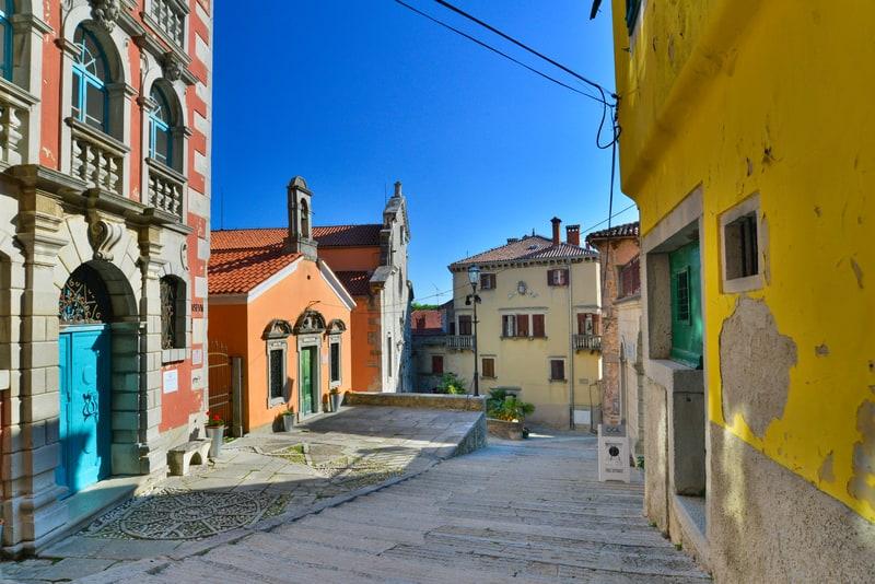 Labin, Istria
