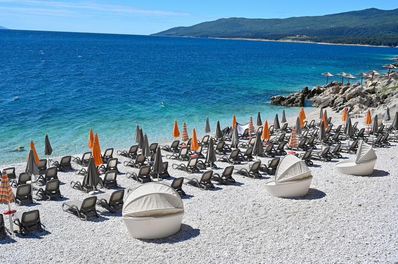 Rabac Beach